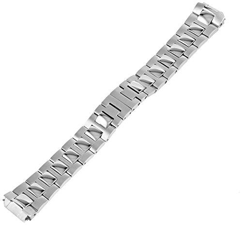 Philip Stein 1-SS3 18mm Stainless Steel Silver Watch Bracelet