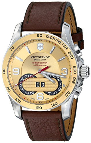 Victorinox Unisex Chrono Classic Two-Tone Stainless Steel Watch