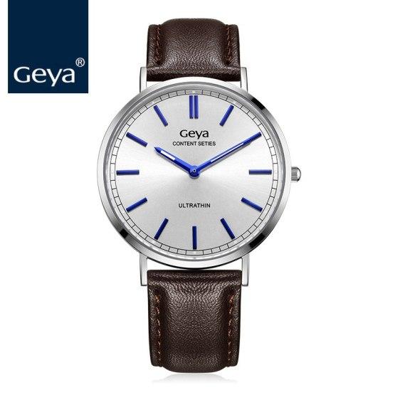 Geya Japan Miyota GL20 Movement Quartz Men Wrist Watch