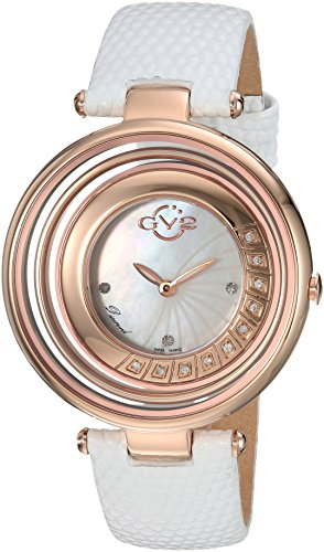 GV2 by Gevril Vittorio Womens Diamond Swiss Quartz Watch