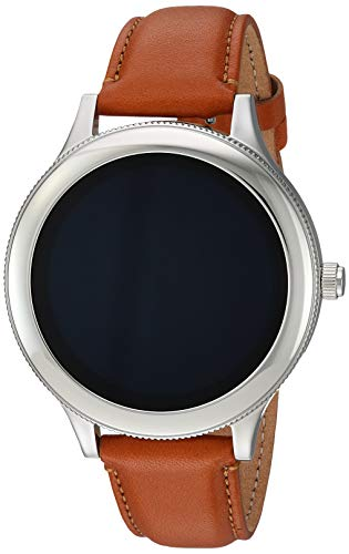 Fossil Women's Gen 3 Venture Stainless Steel and Leather Touchscreen Smartwatch