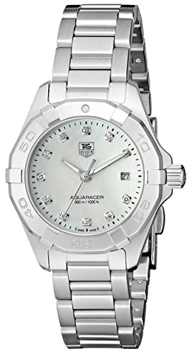 TAG Heuer Women's Aquaracer Silver-Tone Stainless Steel Watch