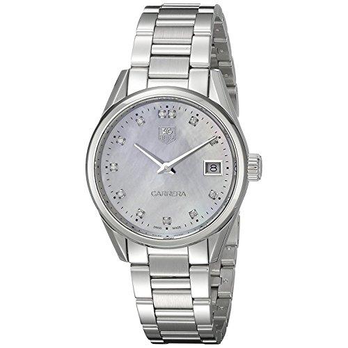 TAG Heuer Women's Analog Display Swiss Silver Watch