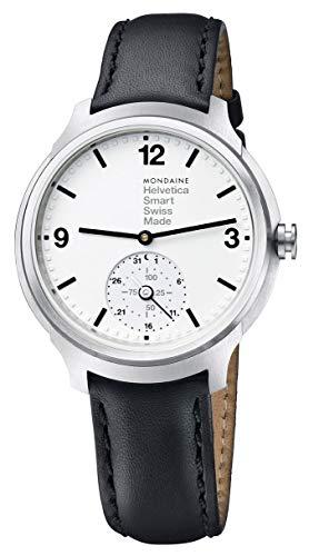 Mondaine Helvetica Bold Stainless Steel Mens Smartwatch