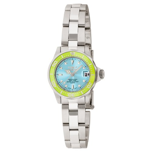 Invicta Women's Pro Diver Mini Blue Dial Stainless Steel Watch