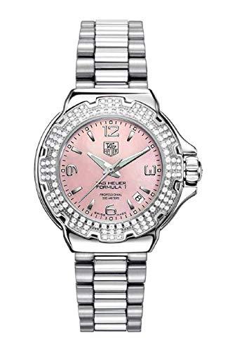 TAG Heuer Women's Diamond Pink Dial Formula One Watch