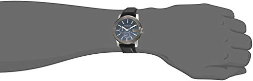 d411d1cabfd Gucci G-Chrono Black Dial Leather Mens Watch YA101205 - Luxury and ...