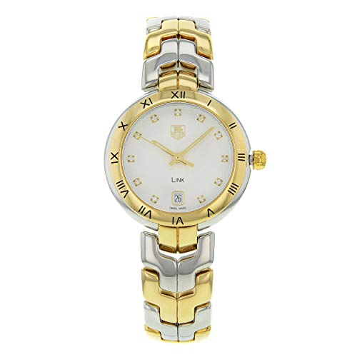 Tag Heuer Link Lady Diamond 18 kt Gold and Stainless Steel Ladies Watch WAT1350.BB0957