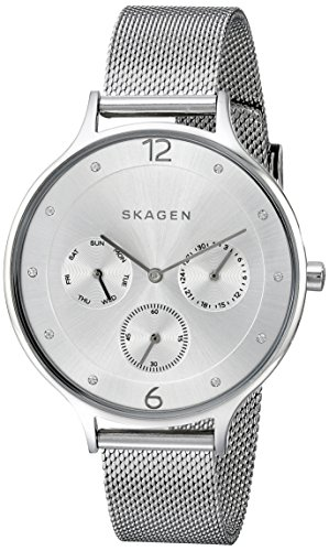 Skagen Women's Anita Stainless Steel Mesh Watch