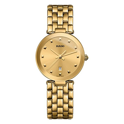 Rado Women's Florence 28mm Gold Plated Bracelet Watch