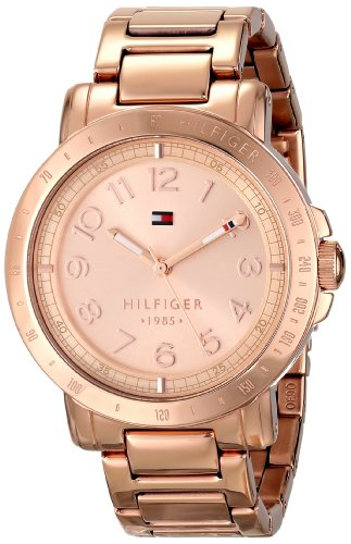 Tommy Hilfiger Women's Rose Gold-Tone Watch