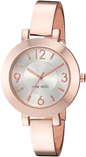 Nine West Women's Japanese-Quartz Watch with Alloy Strap, Rose Gold