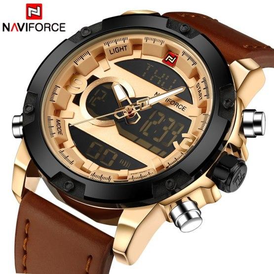 Top Luxury Brand NAVIFORCE Men Sport Watches