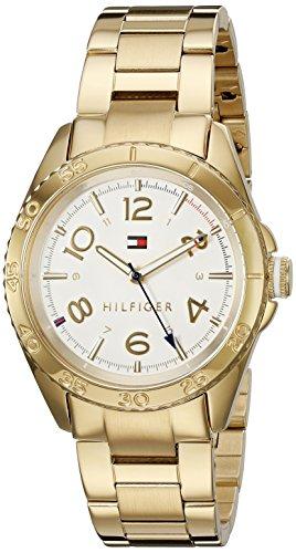 Tommy Hilfiger Women's 'LIZZIE' Quartz Gold Plated Casual Watch