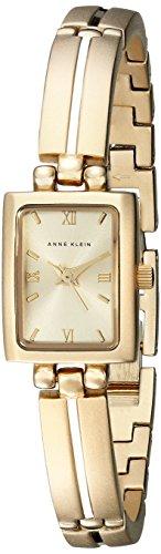 Anne Klein Women's Gold-Tone Dress Watch