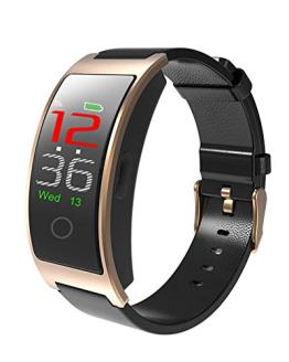 JIHUIA HD Color Screen Smart Watches Waterproof Heart Rate Monitor