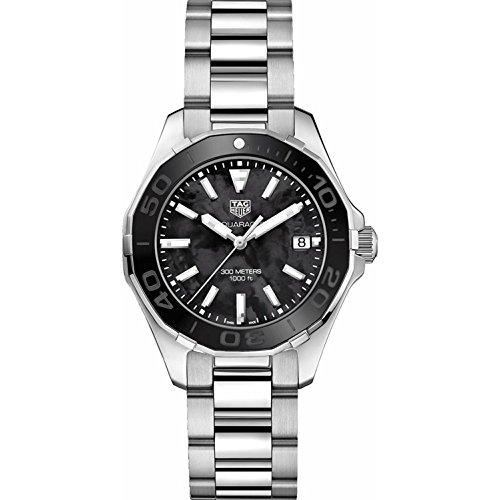 TAG Heuer Aquaracer Black Mother of Pearl 35mm Womens Watch