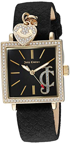 Juicy Couture Black Label Women's Swarovski Crystal Accented Gold-Tone Watch