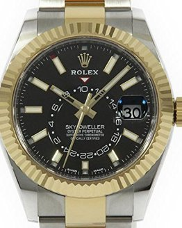 Rolex Sky-Dweller Stainless Steel & 18K Yellow Gold Watch