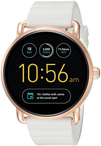 Fossil Gen 2 White Silicone Touchscreen Smartwatch