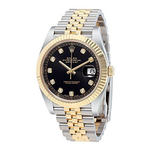 Rolex Datejust 18K Yellow Gold Jubilee Mens Watch