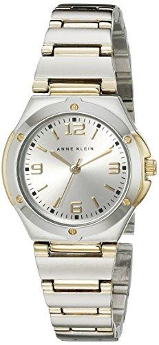Anne Klein Women's Two Tone Round Dress Watch