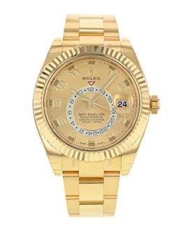 NEW Rolex Sky Dweller 18K Yellow Gold Mens watch