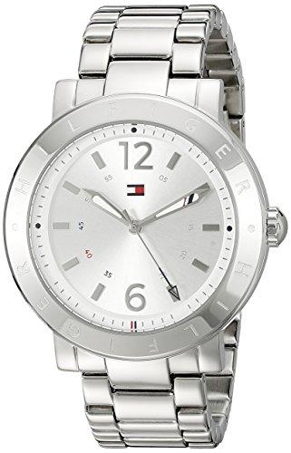 Tommy Hilfiger Women's Casual Sport Analog Display Quartz Silver Watch