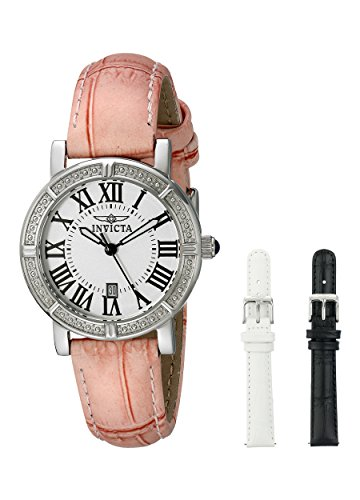 Invicta Women's Wildflower Stainless Steel Watch with Interchangable Straps