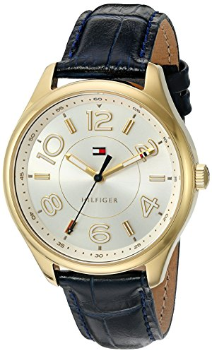 Tommy Hilfiger Women's Quartz Tone and Gold Plated Casual Watch