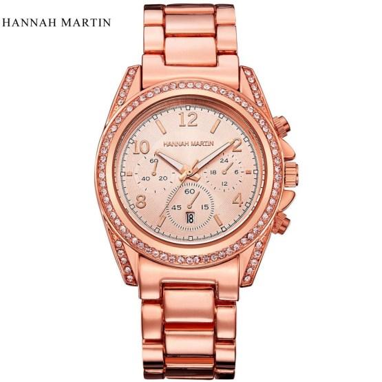 Hannah Martin Quartz-watch Women watches Luxury famous brand