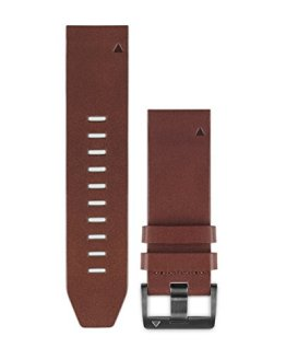 Garmin Fenix 5 Quick fit 22 Watch Band - Brown Leather