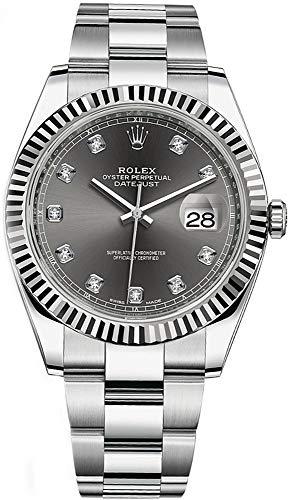 Rolex Datejust Dark Rhodium Dial Set