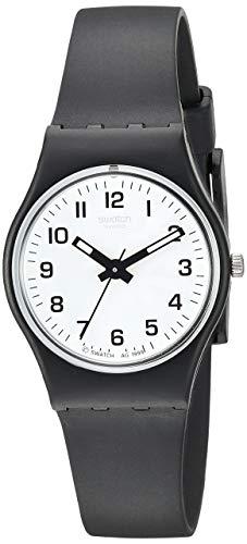 Swatch Women's Something New Black Plastic Watch