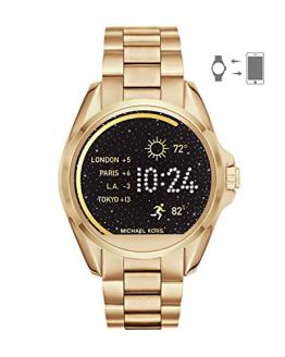 Michael Kors Access Women's Smartwatch Bradshaw Gold-Tone Stainless Steel