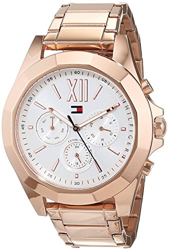 Tommy Hilfiger Chelsea Silver Dial Stainless Steel Ladies Watch