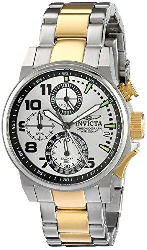 Invicta Women's I-Force Analog Display Japanese Quartz Two Tone Watch