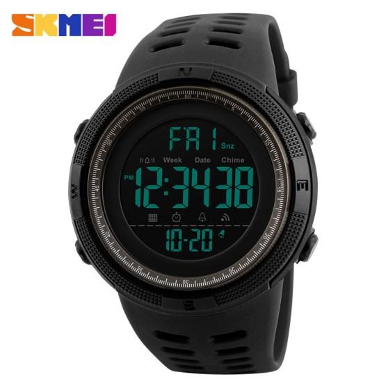 SKMEI Men's Watch Clock Sport Wacthes Digital Man Wrist Watch