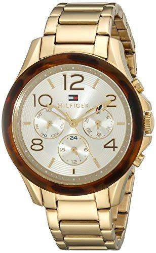 Tommy Hilfiger Women's Sophisticated Sport Analog Display Quartz Gold Watch