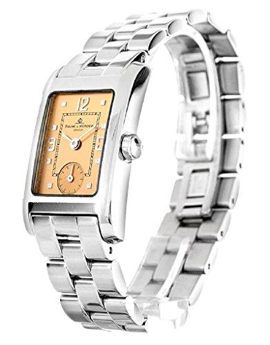 Baume & Mercier Classic Hampton Ladies Copper Dial Small Seconds Watch