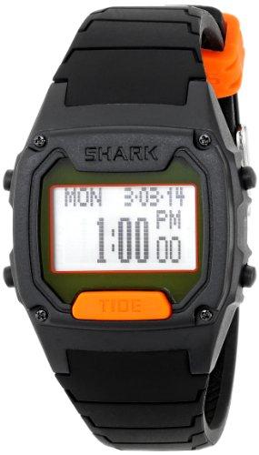 Freestyle Men's Shark Classic Tide Digital Display Japanese Quartz Black Watch