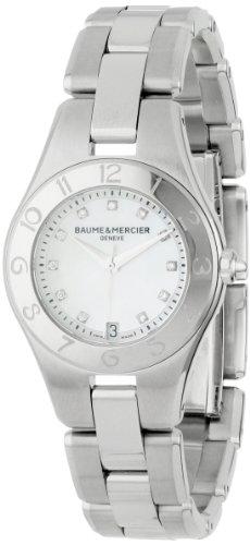 Baume & Mercier Women's Linea Mother-of-Pearl Diamond Dial Watch