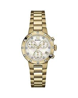 Bulova Gold Stainless Steel Bracelet Watch