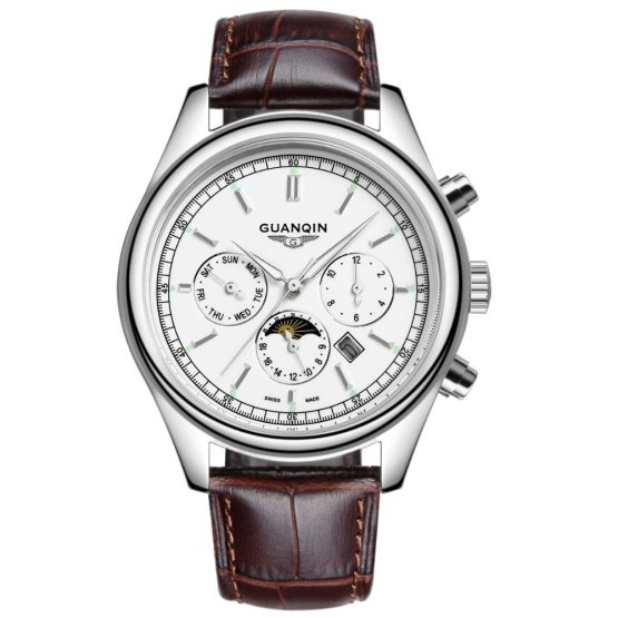 GUANQIN Brand Watch Men Fashion Casual Quartz-Watch