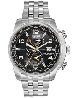 Citizen Men's Eco-Drive World Time Atomic Timekeeping Watch
