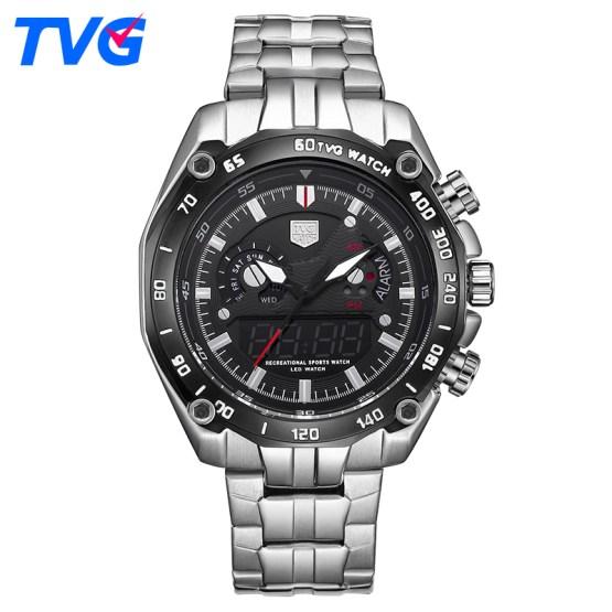 TVG Luxury Brand Watch Men Digital Waterproof Men Sports Watches