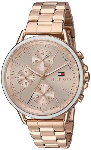 Tommy Hilfiger Women's Sport' Quartz Gold Casual Watch