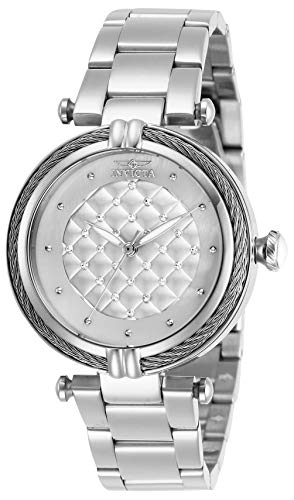 Invicta Women's Bolt Quartz Watch with Stainless Steel Strap, Silver