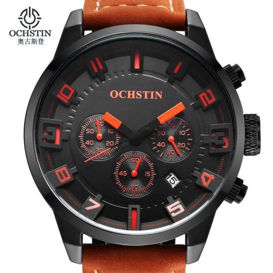 Fashion Men's Wrist Watches Male Luxury Brand OCHSTIN Quartz Watch