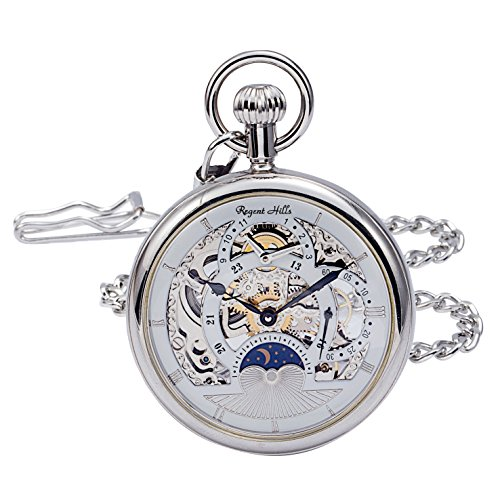 Regent Hills Vintage Silver Pocket Watch